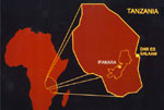 Thumbnail of Map of Tanzania showing Ifakara.