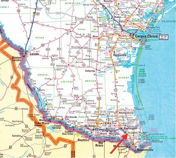 Map Of Southern Texas My Blog - Map of southern texas
