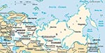 Thumbnail of Opisthorchis (solid lines) and Clonorchis (broken lines) endemic areas in the former USSR. Original map was obtained from the United Nations Development Programme Web site (www.undp.org).