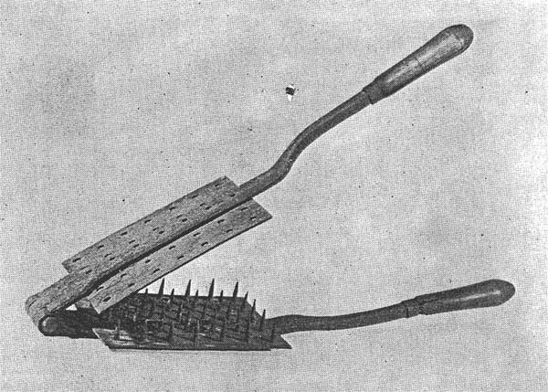 Rastel, a perforating mallet, ca. 1830 (18).