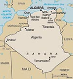Thumbnail of Map of Algeria. Courtesy of Wikipedia Encyclopedia (http://en.wikipedia.org/wiki).
