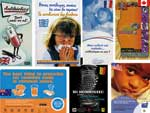 Thumbnail of Posters from nationwide educational campaigns against misuse of antimicrobial drugs.