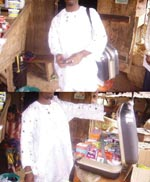 Thumbnail of Itinerant medicine vendor in Oja-tuntun marketplace, Ile-Ife, Nigeria.