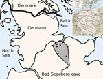 Thumbnail of Map of Germany (inset) with enlarged view of northern Germany. The study area is shaded, and dots in the study area indicate sampling sites.