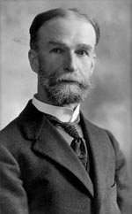 Thumbnail of Theobald Smith (1859–1934). Smith was a pioneer epidemiologist, bacteriologist, and pathologist who made many contributions to medical science. He is best known for his work on Texas cattle fever, in which he and his colleagues discovered the protozoan agent and its means of transmission by ticks.