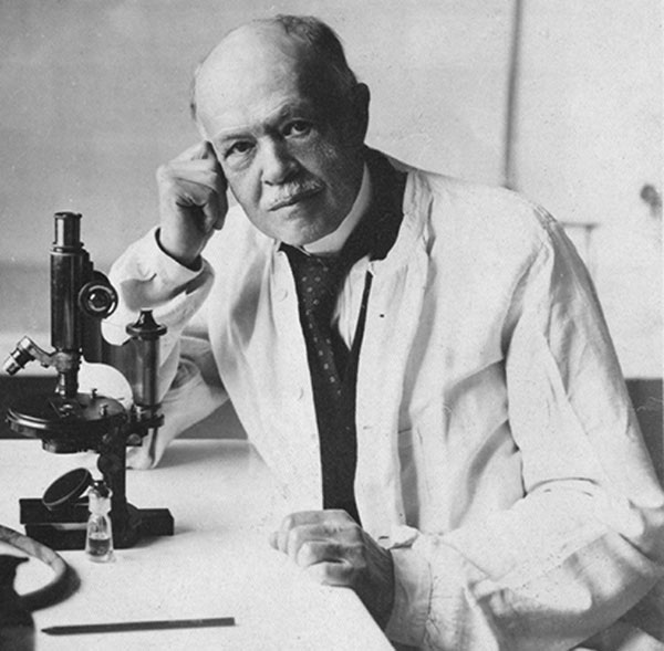 Who is this man? Here is a clue: he discovered that epidemic typhus is transmitted by lice. Who is he?