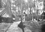 Thumbnail of New Georgia Island medical clearing station, Solomon Islands, 1943.