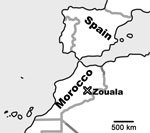 Thumbnail of Location of Zouala, Morocco.