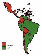 Thumbnail of Control measures for bovine tuberculosis based on test-and-slaughter policy and disease notification, Latin America and the Caribbean (21).