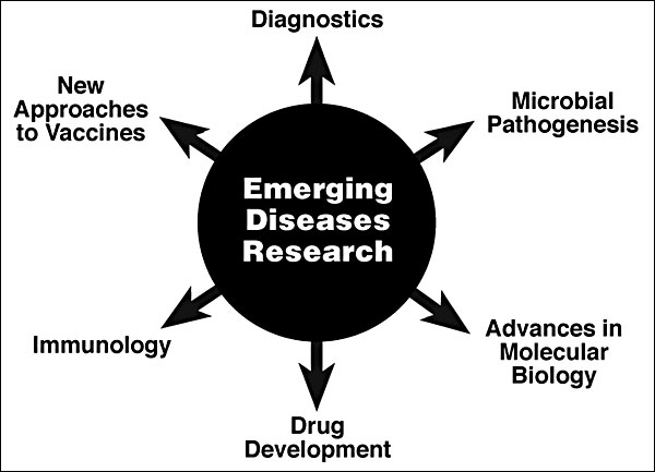 Benefits of emerging diseases research.