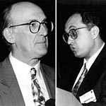 Thumbnail of Sir John Pattison (L), Medical School of University College, London, UK; Sherif Zaki, Centers for Disease Control and Prevention, Atlanta, Georgia.