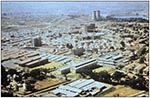 Thumbnail of An aerial view of Chris Hani Baragwanath Hospital, with 3,000 inpatients the largest hospital in the world—Soweto, South Africa. Multiple-drug resistant pneumococci were found here in 1978.
