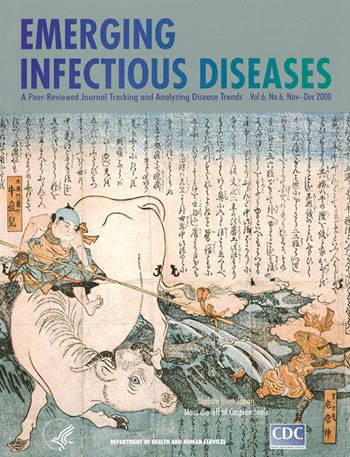 Dr. Ryusai Kuwata (Bunka 8/1811-Keio 4/1868) . Japanese color woodcut print advertising the effectiveness of cowpox vaccine (circa Kaei 3/1850 A.D.). Reproduced with permission from the Nihon University Medical Library, Iidamachi, Tokyo.