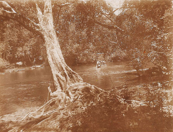 Ebola River, ca. 1932. Photo courtesy Pierre Rollin.