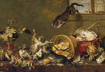 Thumbnail of Paul de Vos, Cats Fighting in a Larder 1630–1640. Oil on canvas. Museo Nacional del Prado. https://www.museodelprado.es/coleccion/galeria-on-line/galeria-on-line/obra/pelea-de-gatos-en-una-despensa/, Public Domain, https://commons.wikimedia.org/w/index.php?curid=39117357