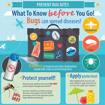 Infographic: prevent bug bites
