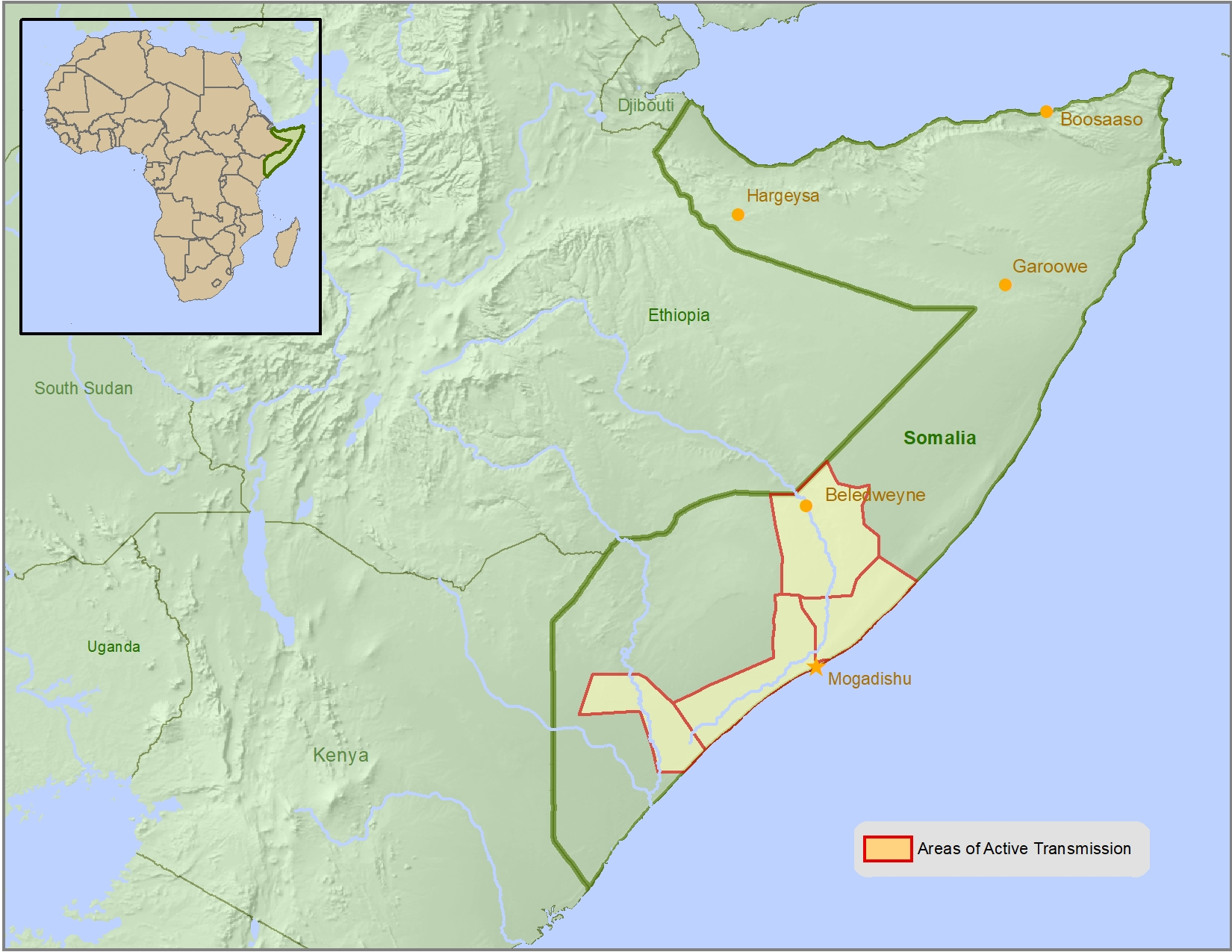 Health Information for Travelers to Somalia - Traveler view ...