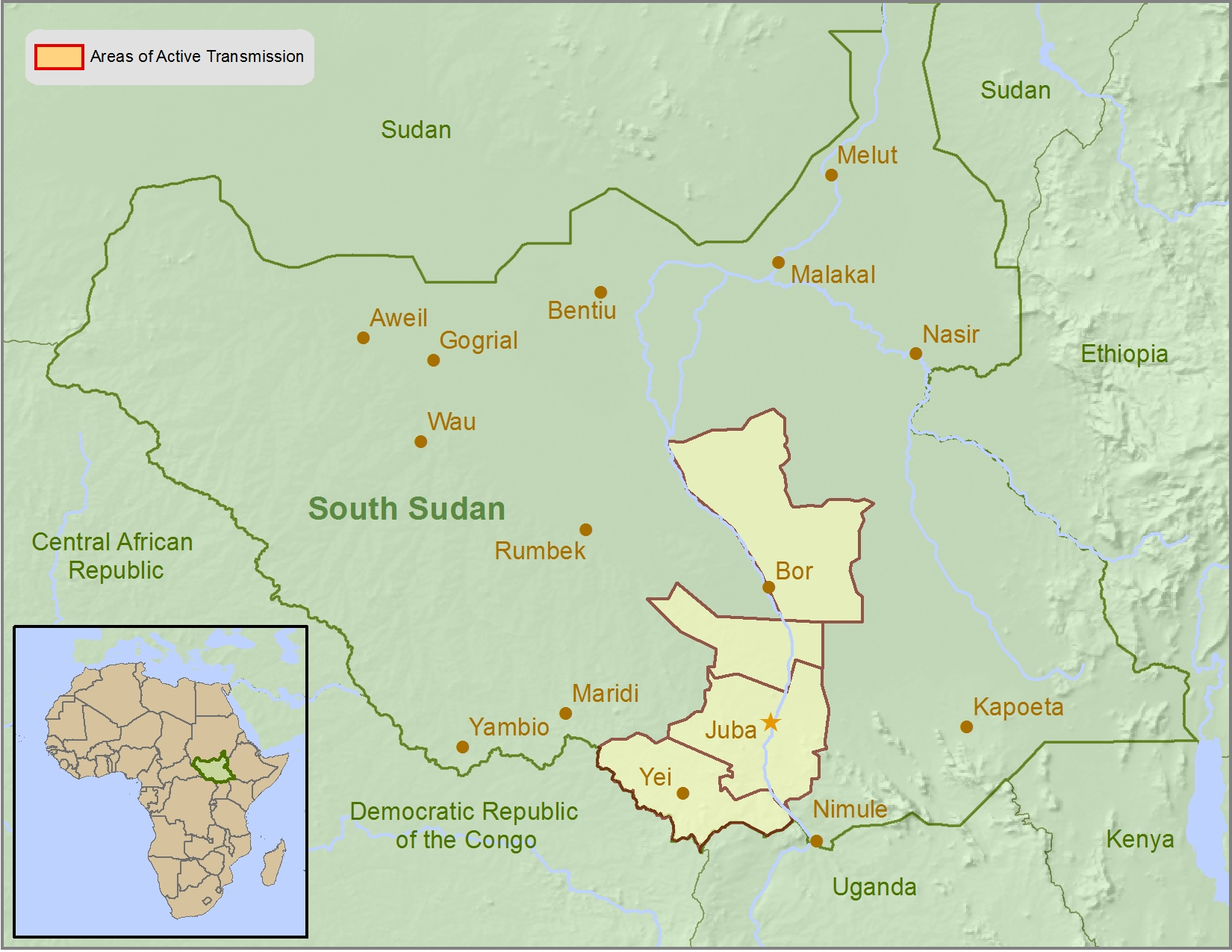 Health Information for Travelers to Republic of South Sudan