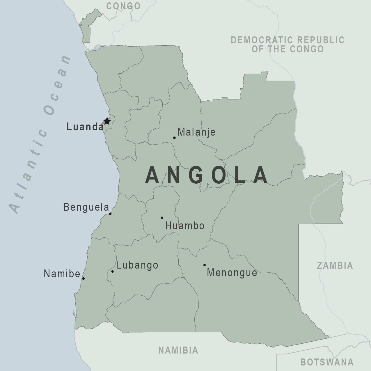 Angola Traveler View Travelers Health Cdc