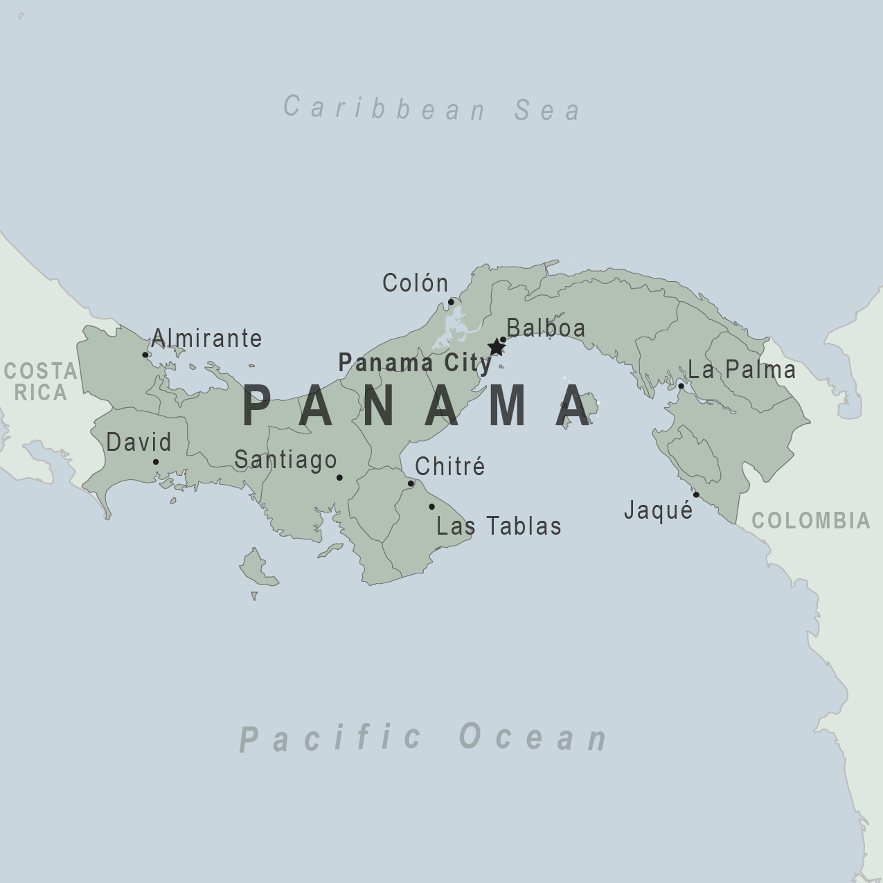 Panama City On Map Health Information for Travelers to Panama   Traveler view