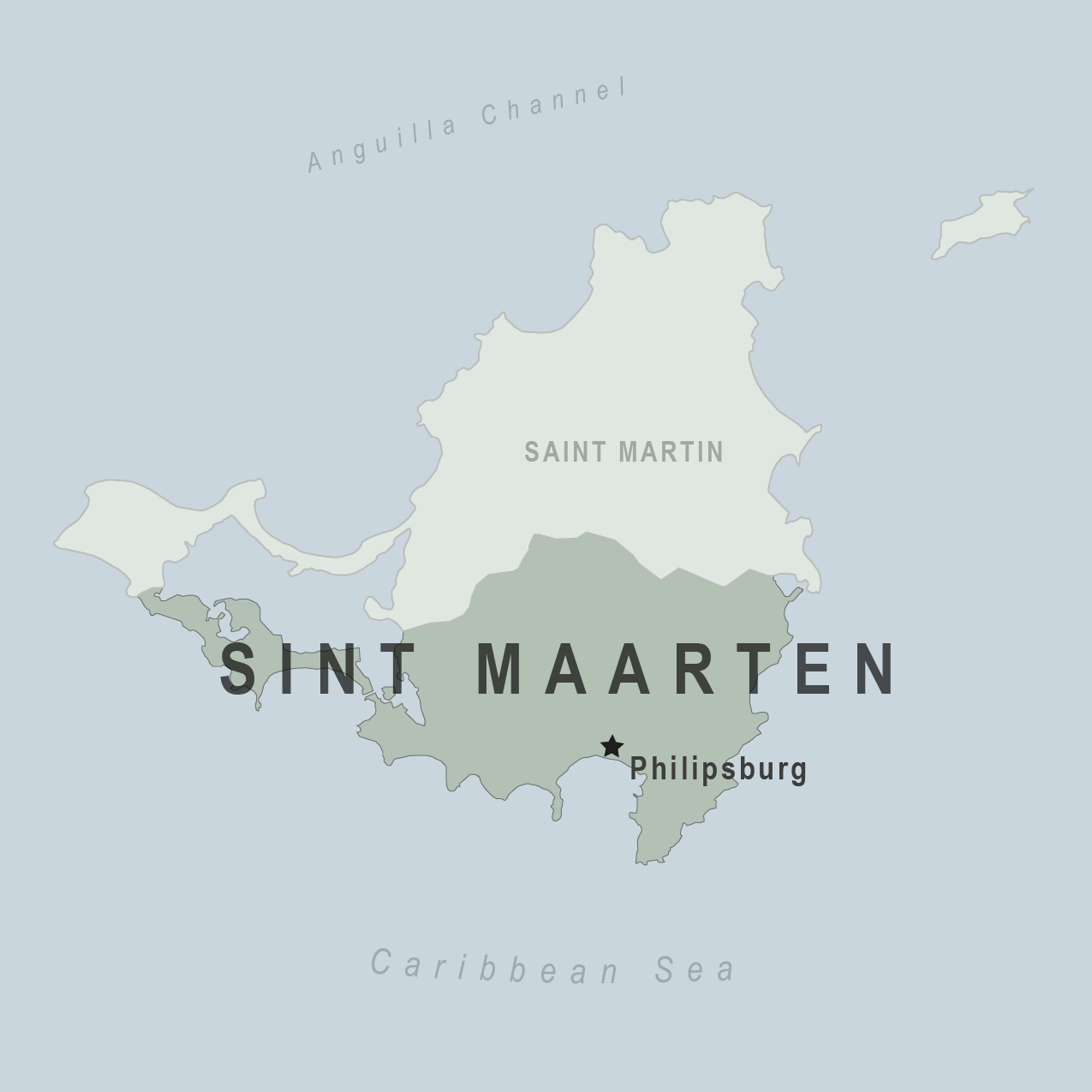 where is st maarten located in the world