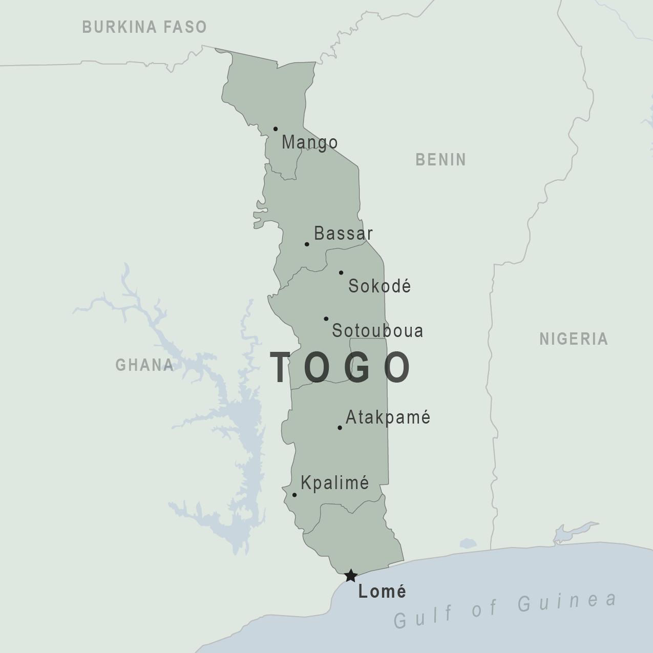 Togo Traveler View Travelers Health Cdc