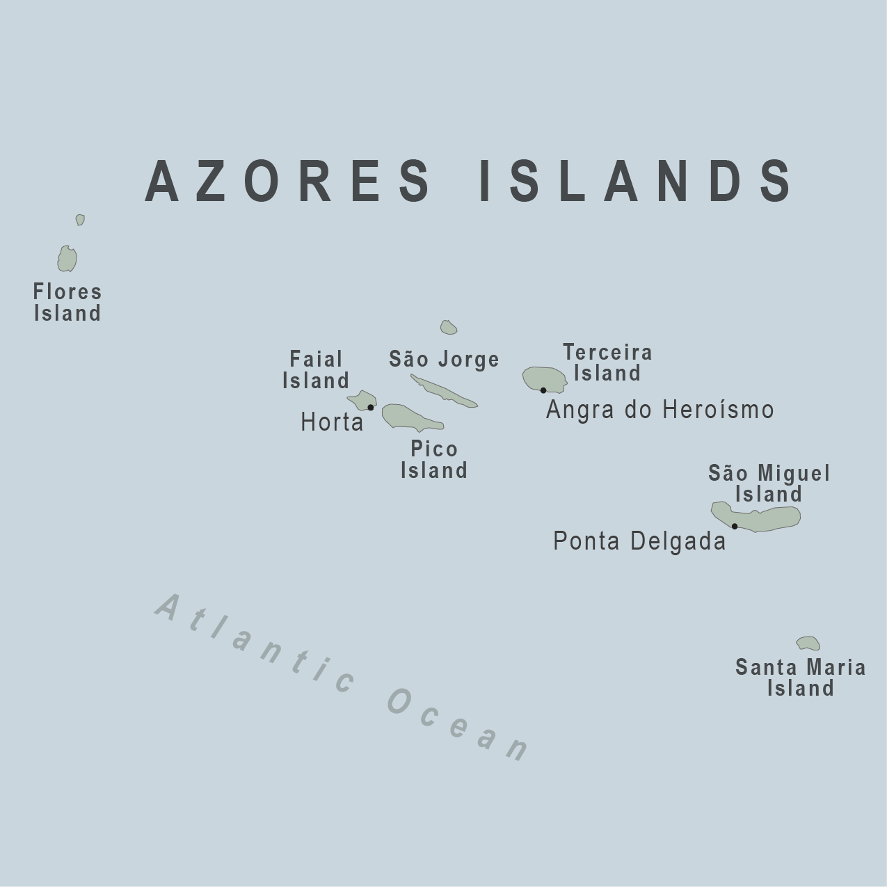 Map - Azores