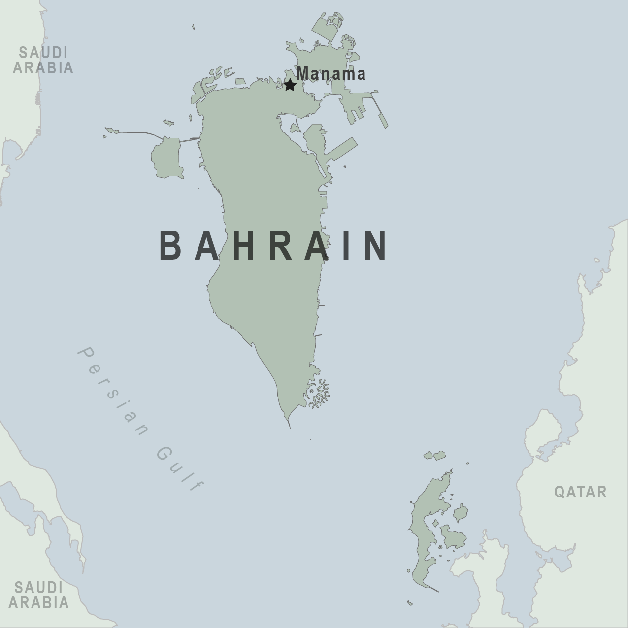 Map - Bahrain