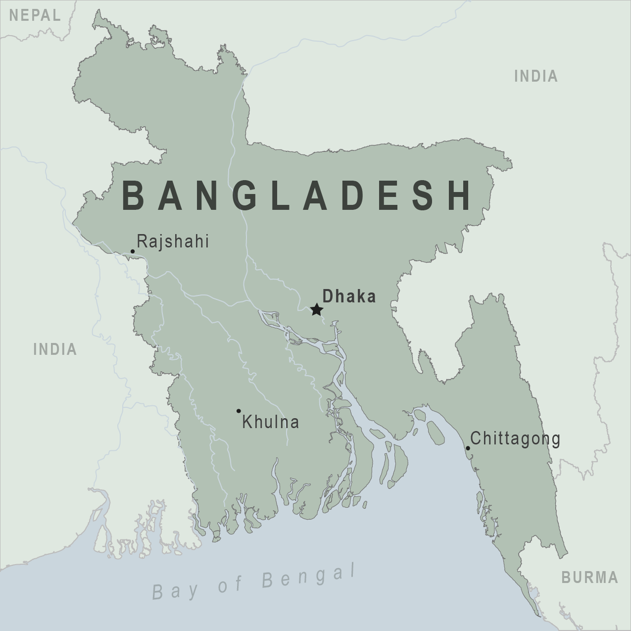 Map - Bangladesh