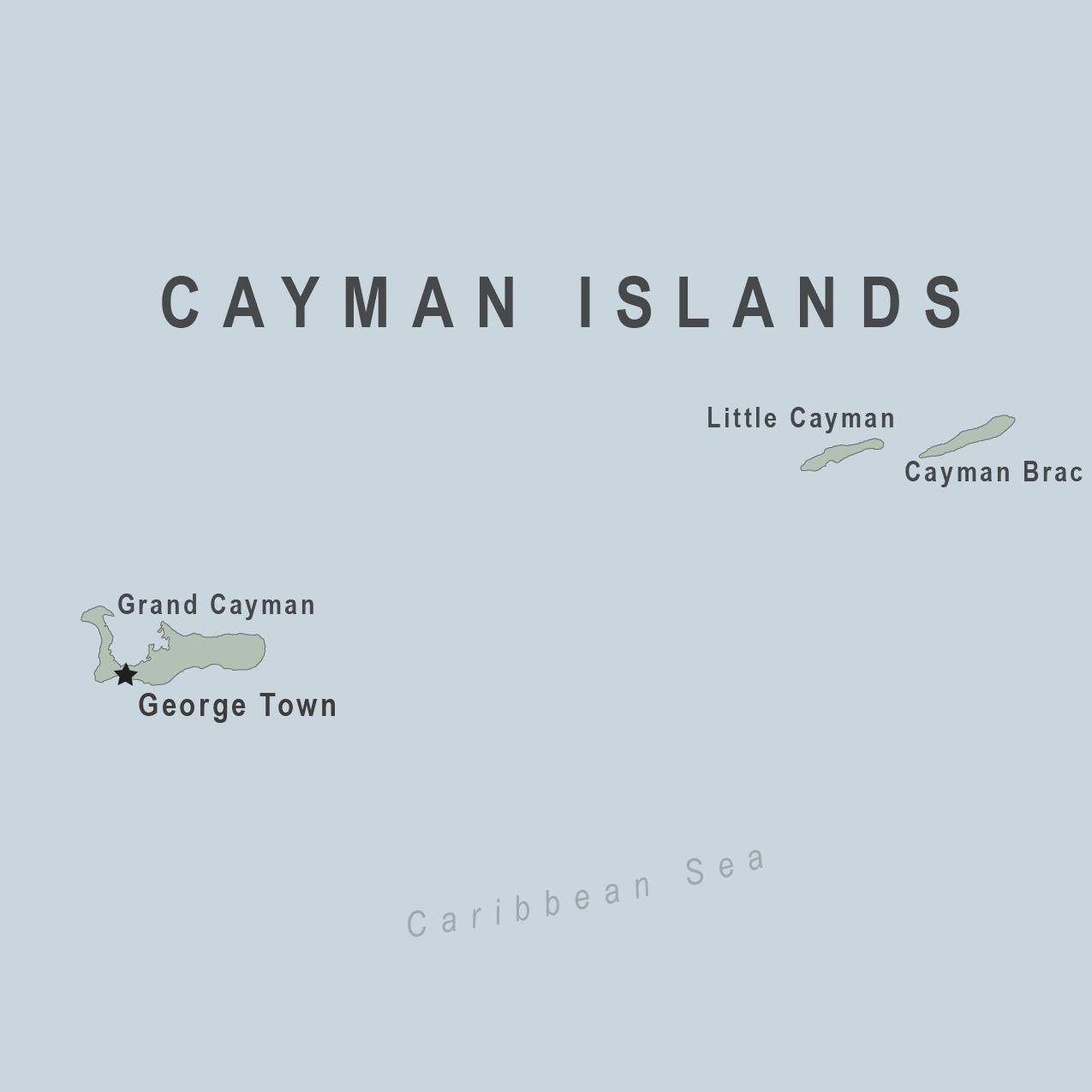 Map - Cayman Islands