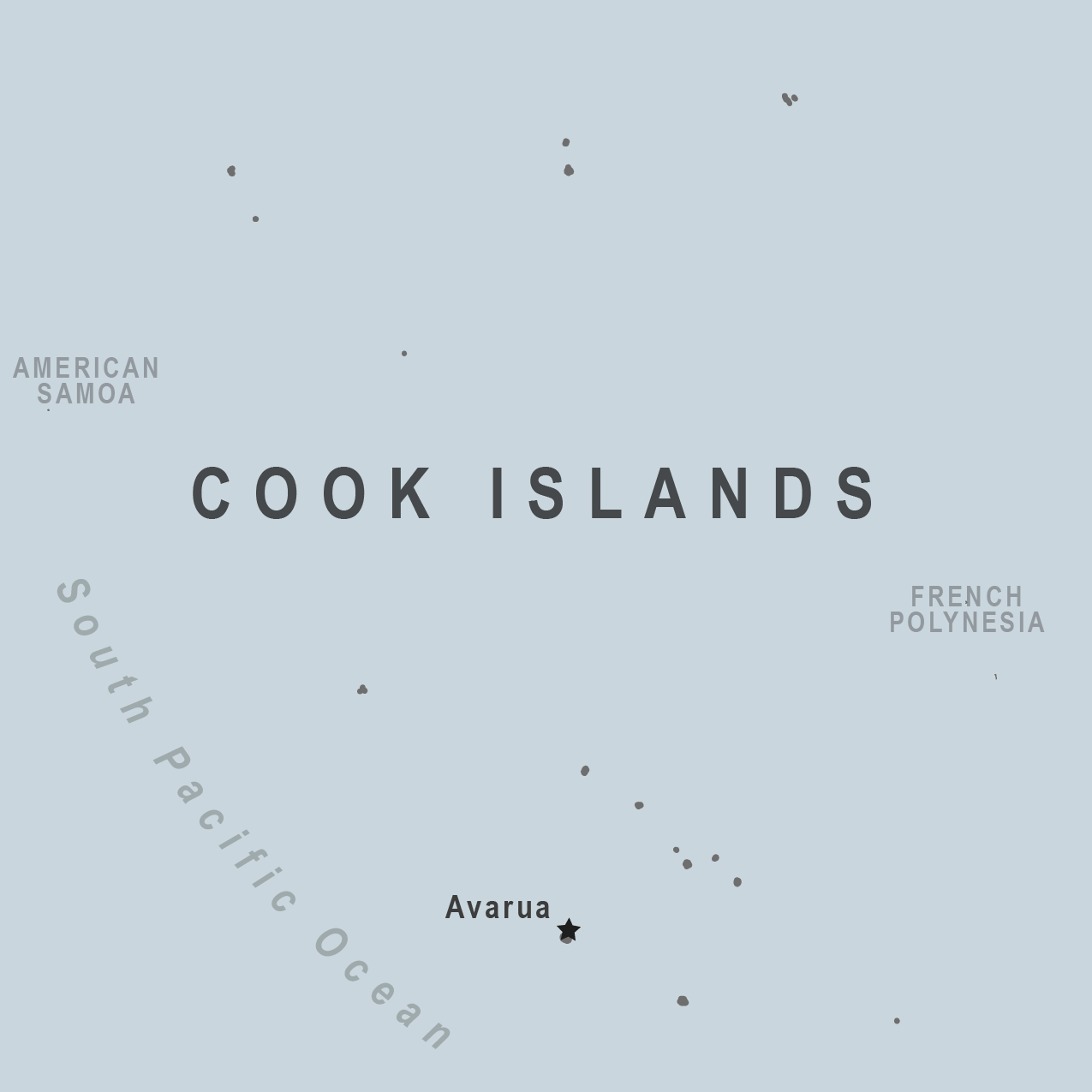 Health Information For Travelers To Cook Islands New Zealand - Thomas cook us maps
