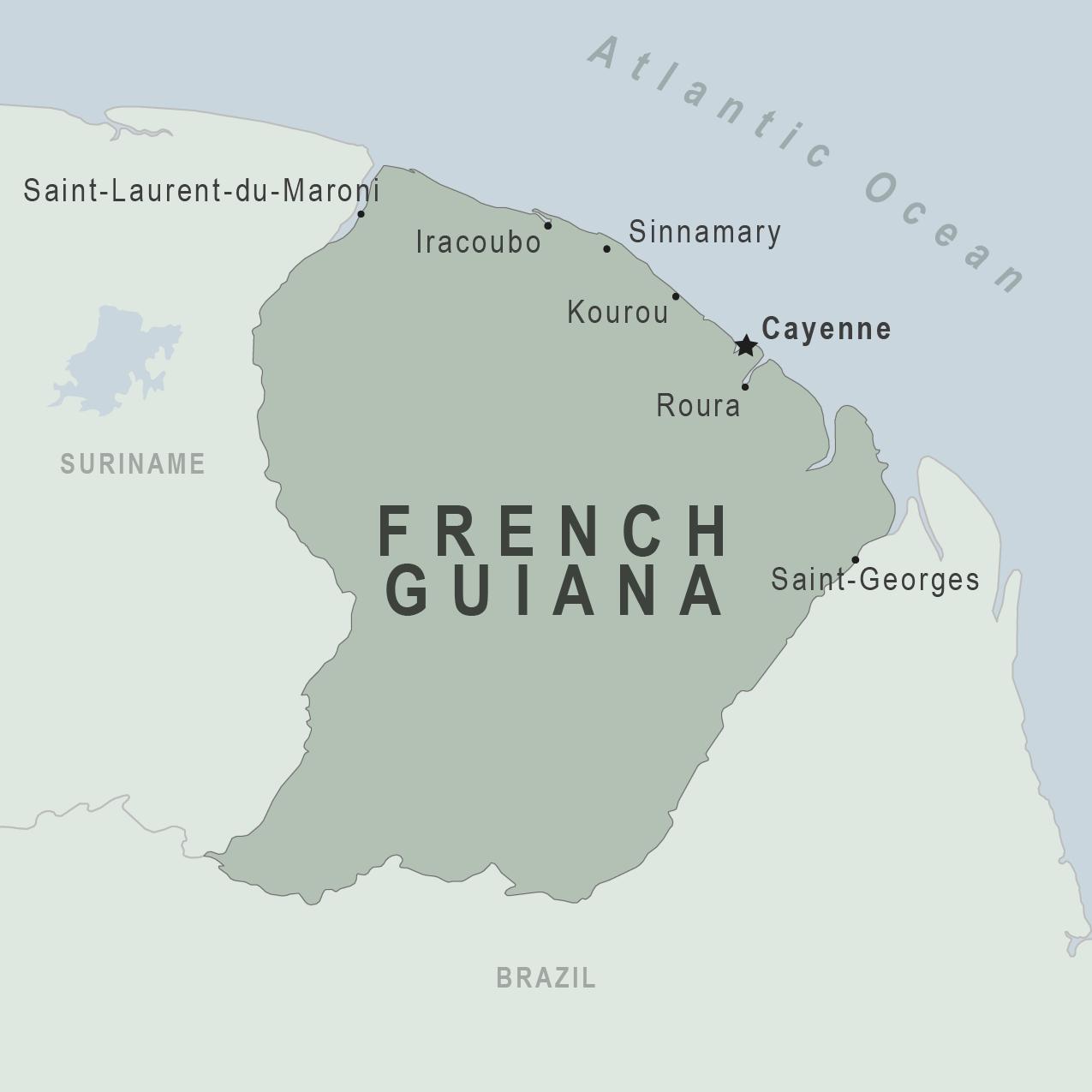 French Guiana | Metro Map | Bus Routes | Metrobus Way Map | Train ... French Guiana Travel Maps