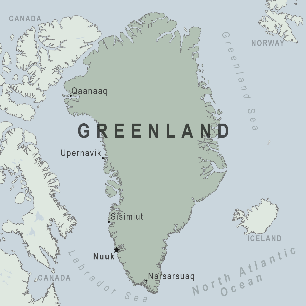 Greenland Google Image Result For Httpwwpgreenwichmeantime - Us canda greenland map with counties