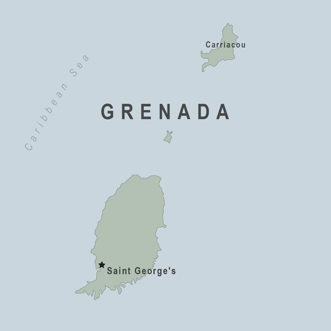 Health Information For Travelers To Grenada Traveler View - Grenada maps with countries