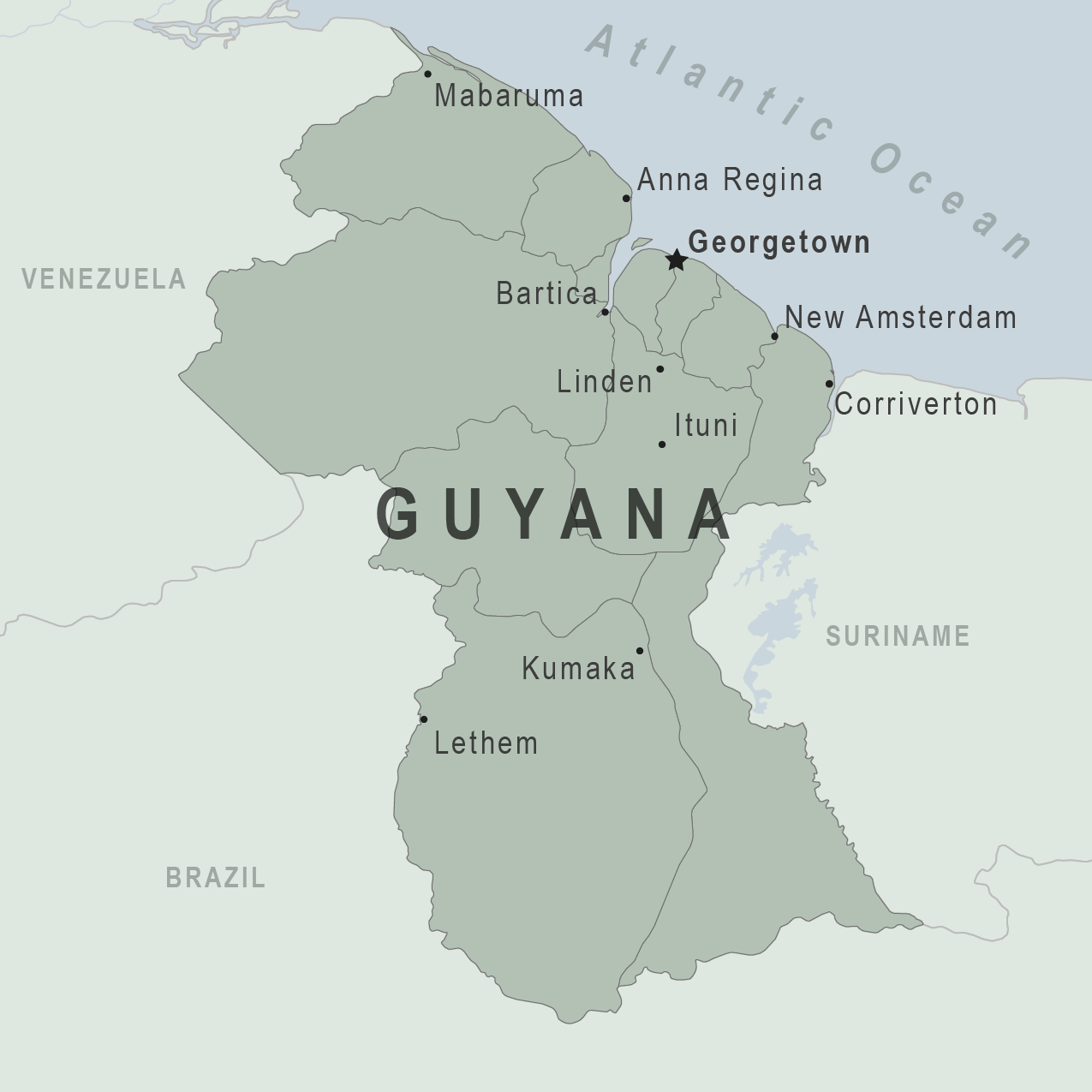Health Information for Travelers to Guyana Traveler view