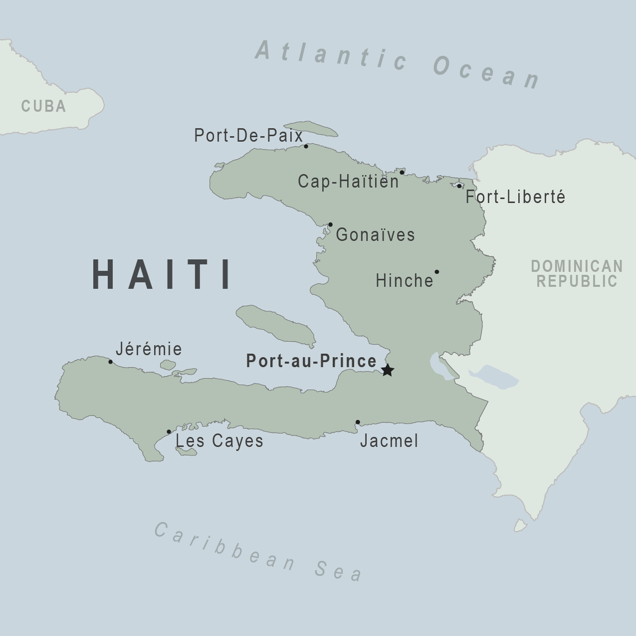 Health Information For Travelers To Haiti Traveler View - Haiti and the us map