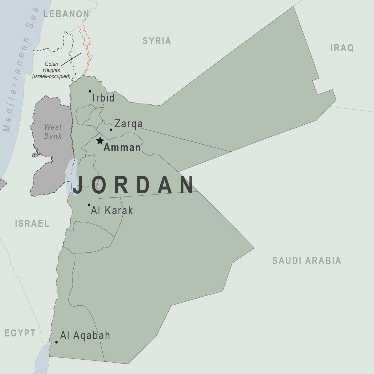 is jordan a country