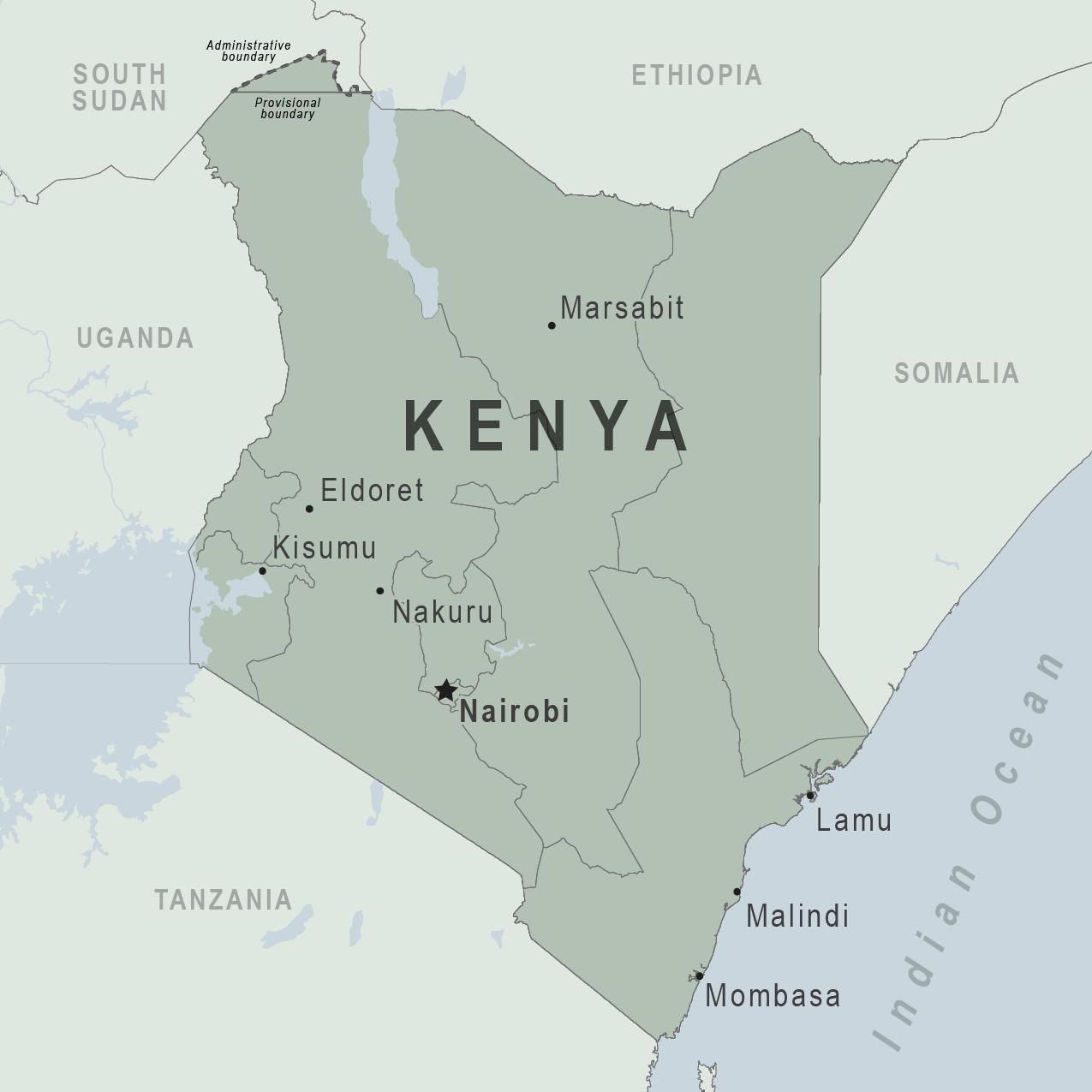 Where Is Nairobi In Africa Map Kenya   Traveler view | Travelers' Health | CDC