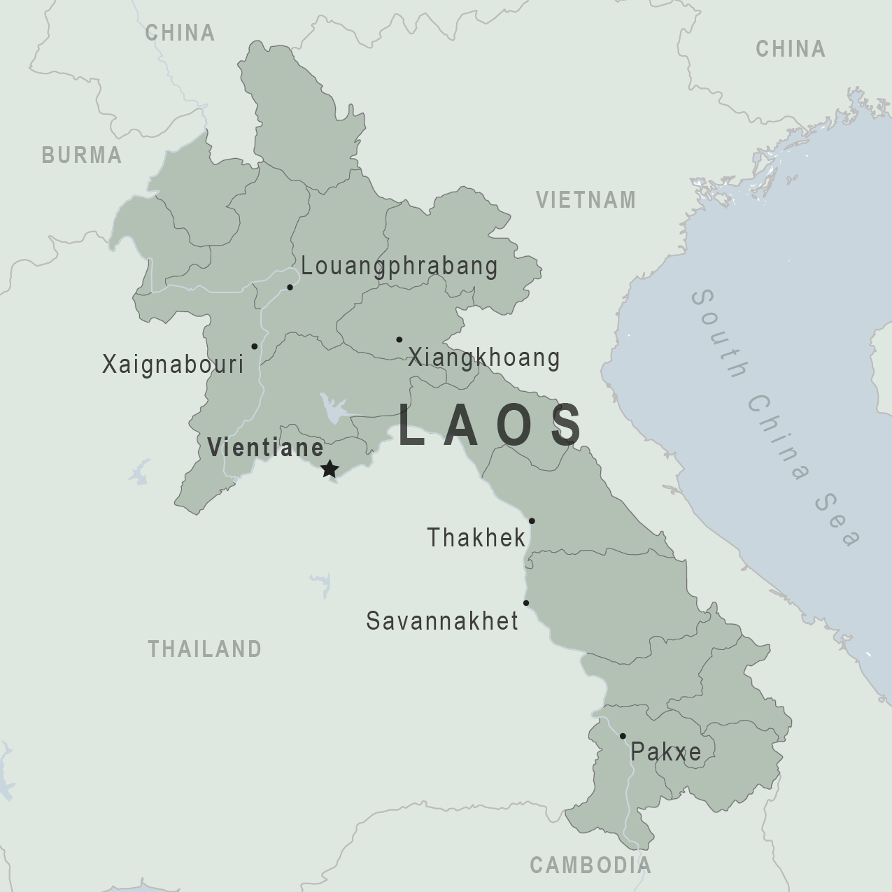 Laos Clinician View Travelers Health Cdc