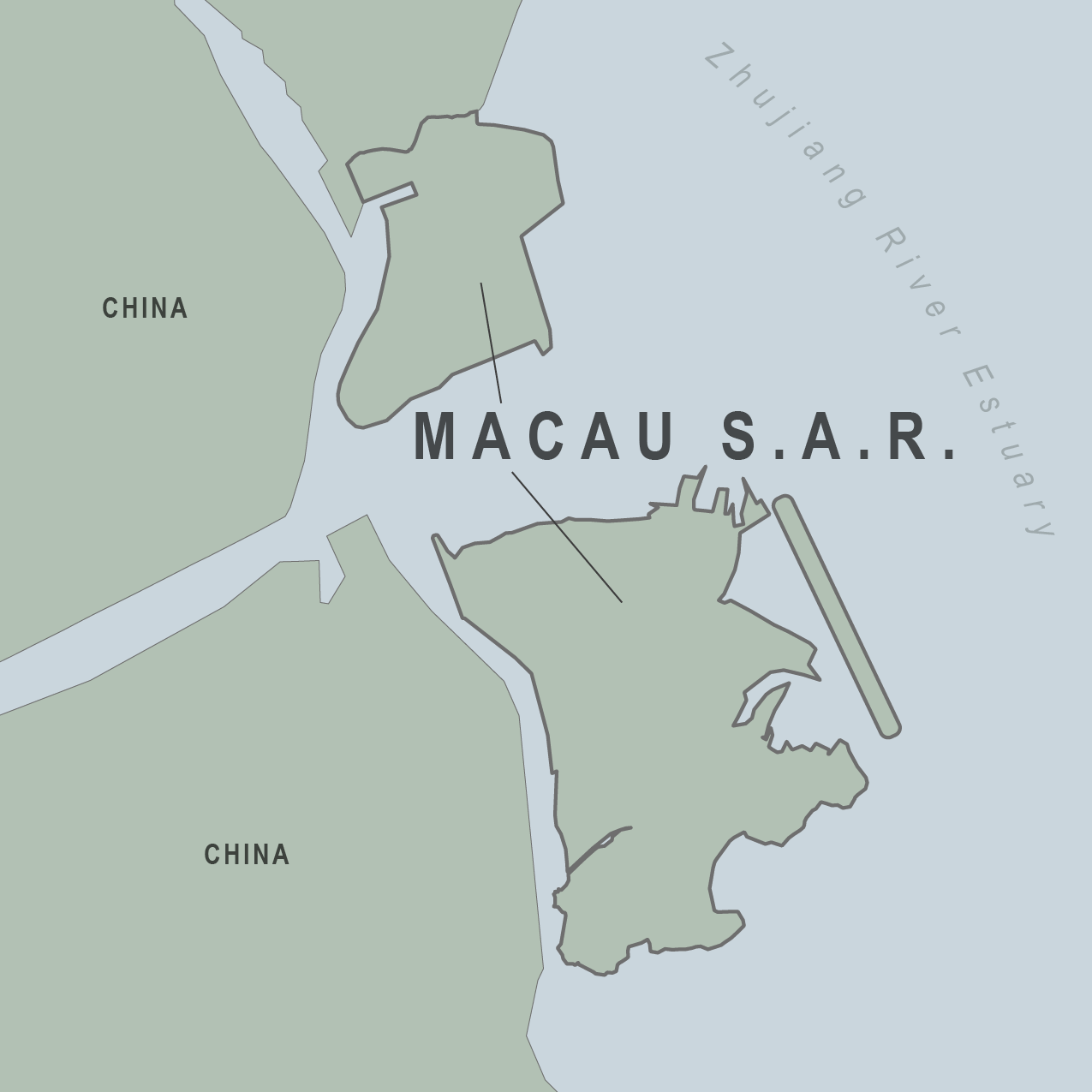 Map - Macau SAR (China)