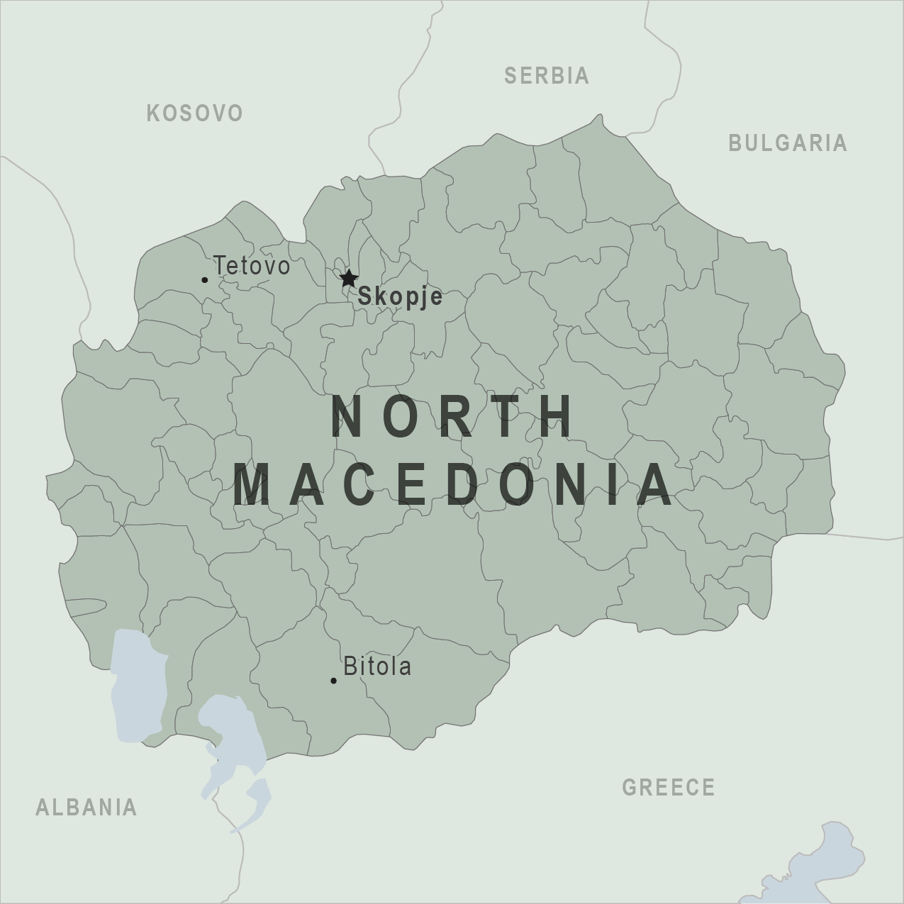 Map - Macedonia