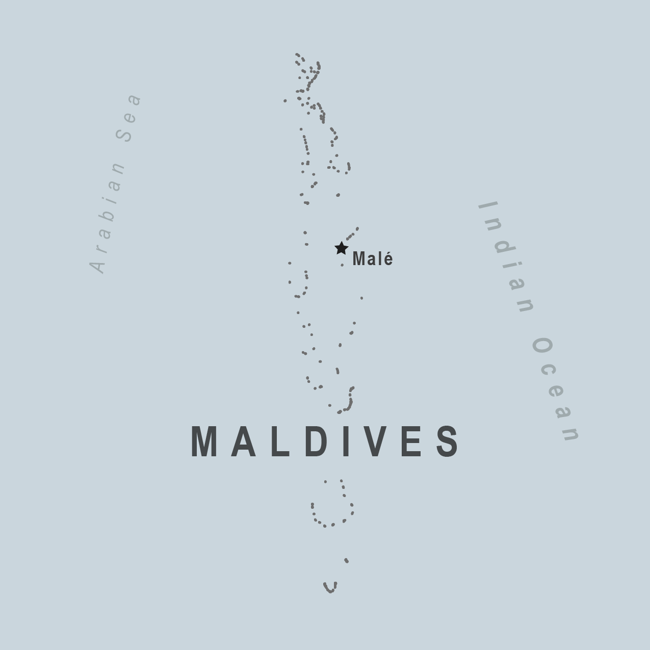 Map - Maldives