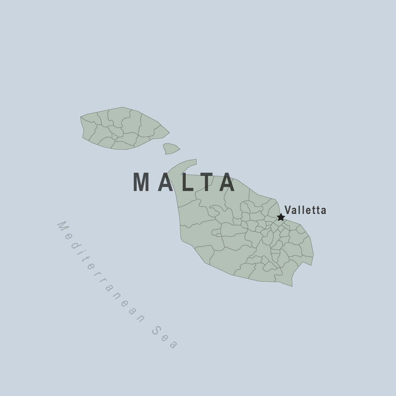 Malta On Map Of Europe.Health Information For Travelers To Malta Traveler View