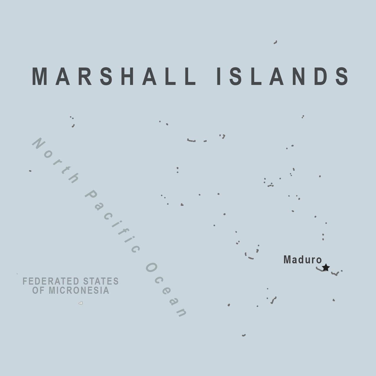 Map - Marshall Islands