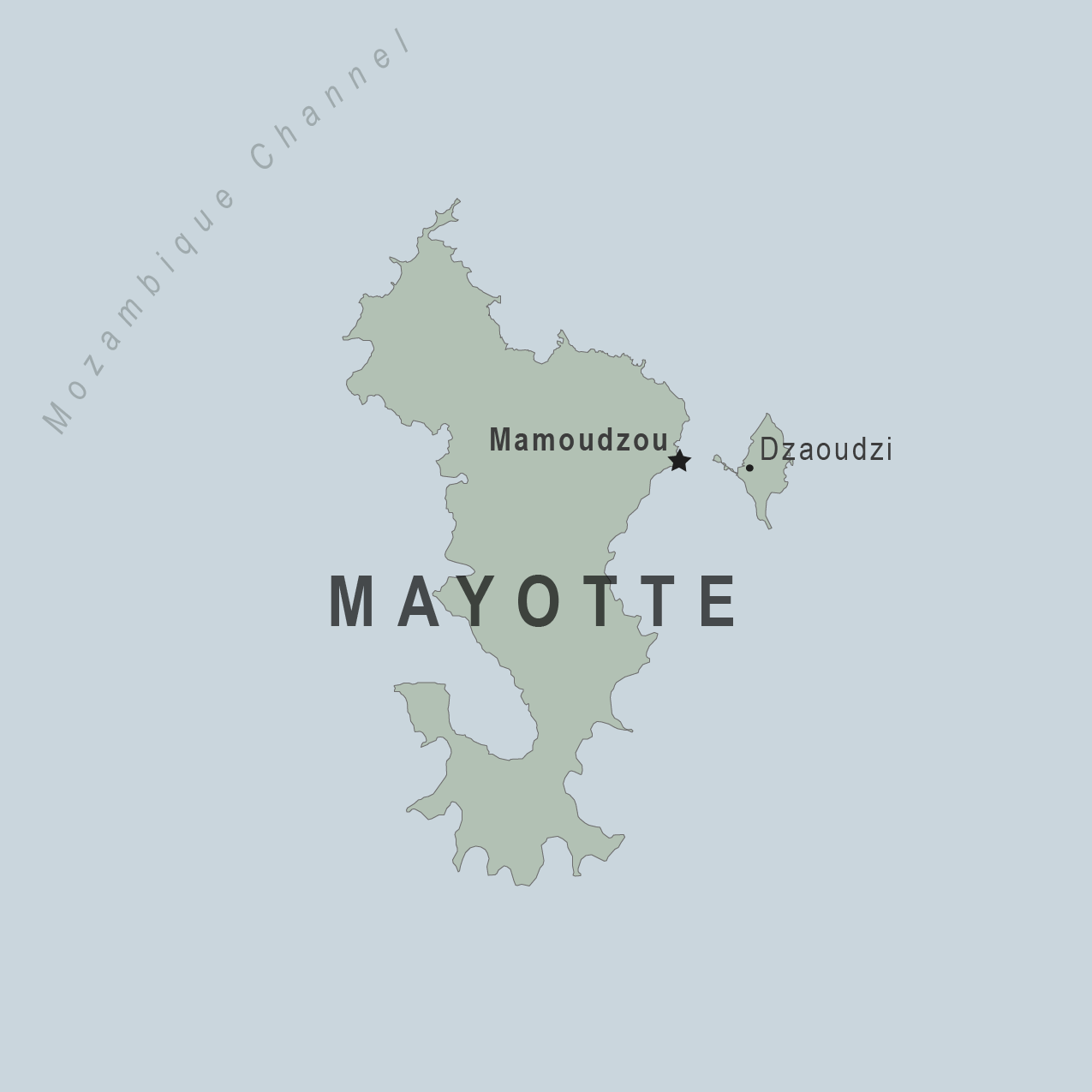Map - Mayotte
