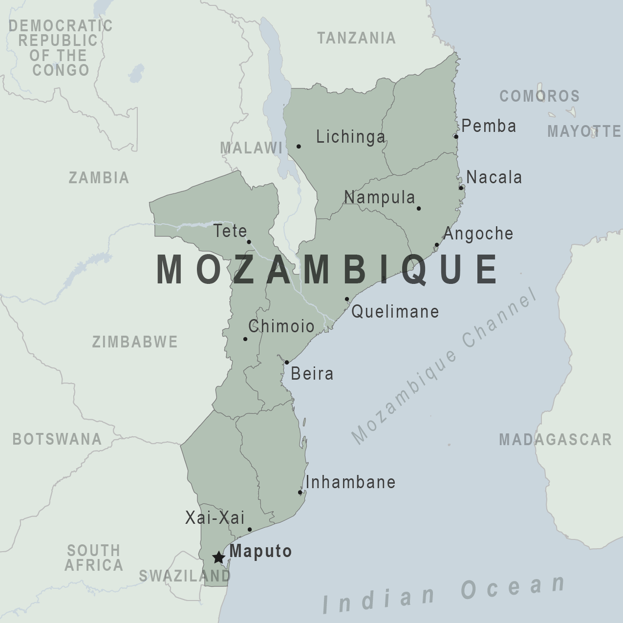Health Information For Travelers To Mozambique Traveler View