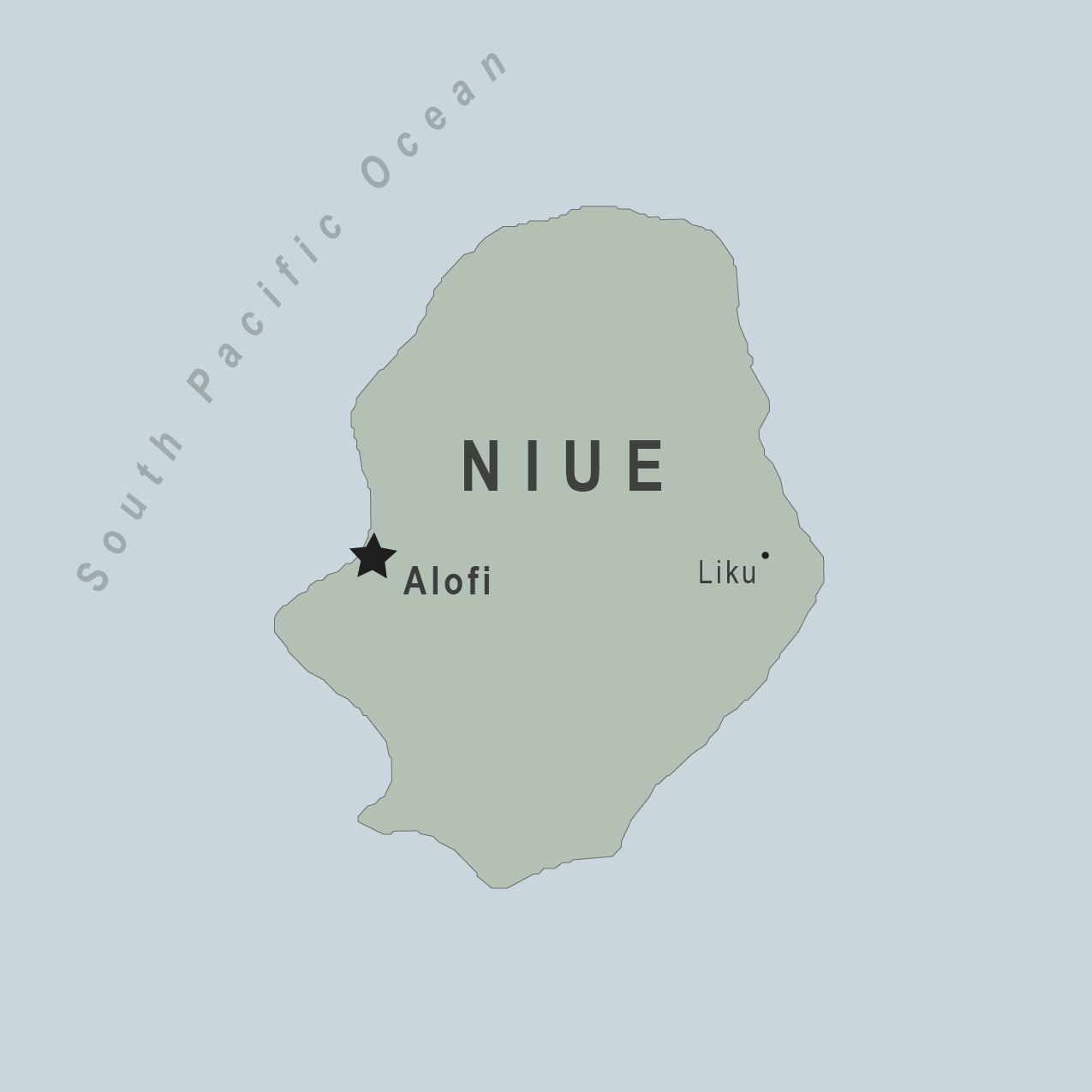 Health Information For Travelers To Niue New Zealand Traveler - Niue map