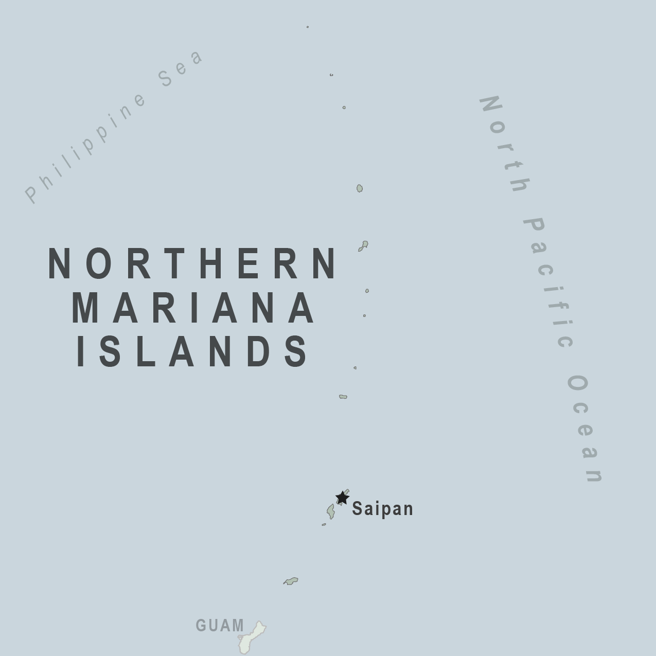 Map - North Mariana Islands