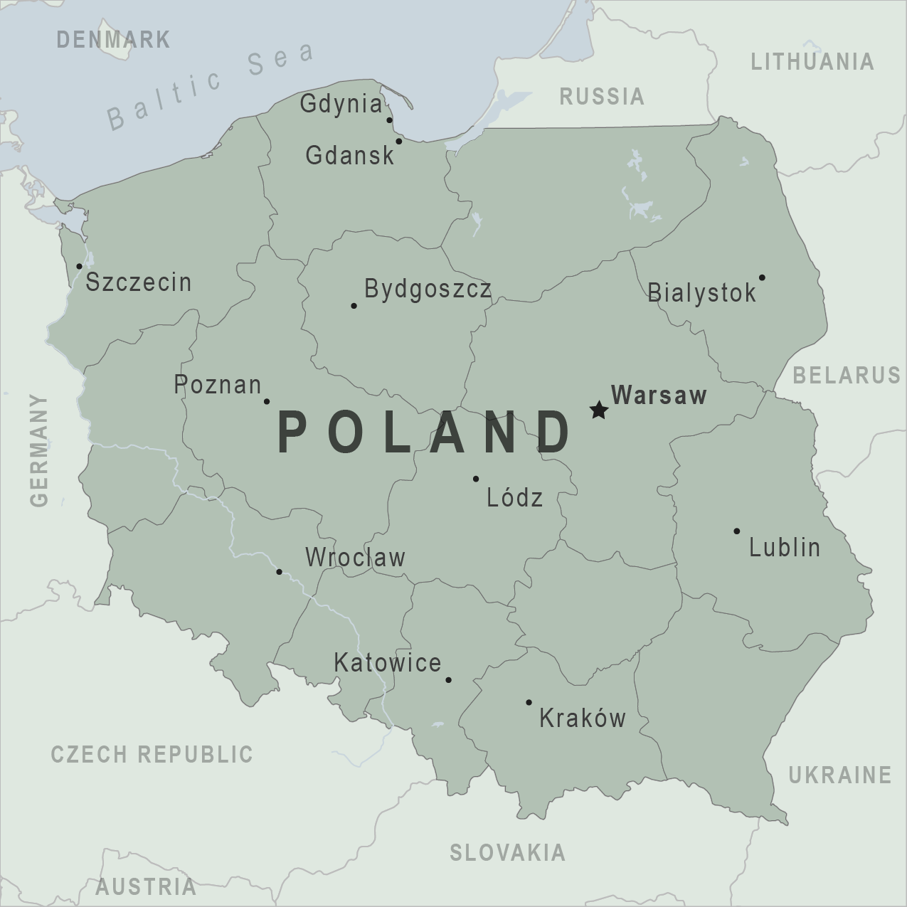 Capital Of Poland Map.Kids Travel Guide To Poland Fun Kids The Uk S Children S