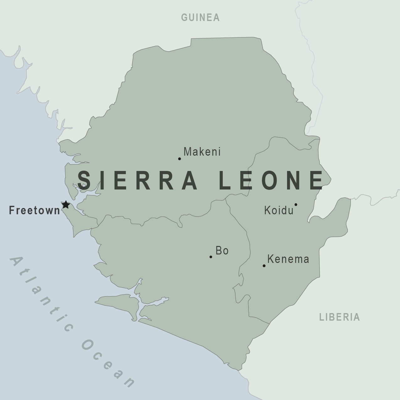 Health Information for Travelers to Sierra Leone Traveler view